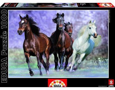 Educa Puzzle Cválající koně 1000 dílků