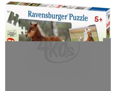 Ravensburger Hříbata 3 x 49 dílků