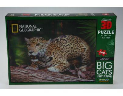 Prime 3D Puzzle Jaguar 500 dílků 3D