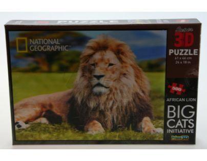 Prime 3D Puzzle Lev 500 dílků 3D