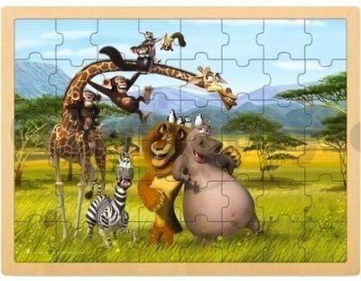 Puzzle MADAGASKAR 48d