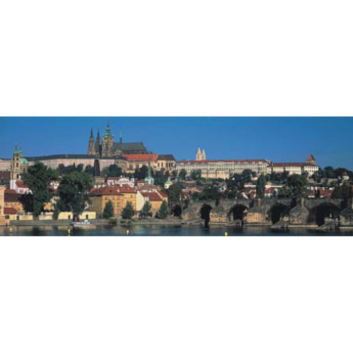 Puzzle Panorama Pražský hrad 1000d