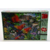 Prime 3D Puzzle Papoušci 500 dílků 3D