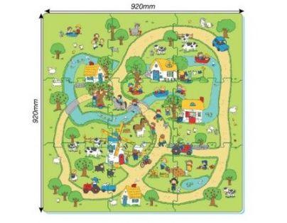 Made Puzzle pěnové Farma
