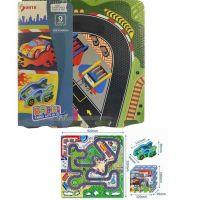Made Puzzle pěnové autodráha 9 ks 32 x 32 cm