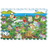 Made Puzzle pěnové město 6 dílů 32 x 32 cm