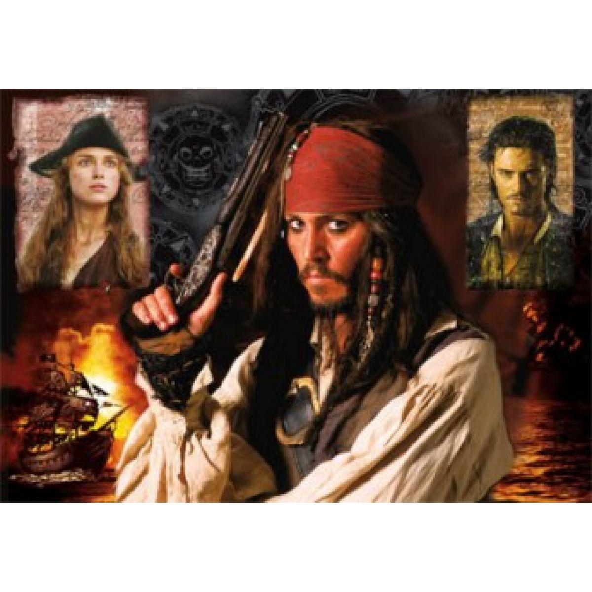 DINO 501461 - Piráti z Karibiku - Jack (500 dílků)