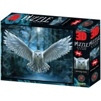 Puzzle Sova 500 dílků 3D