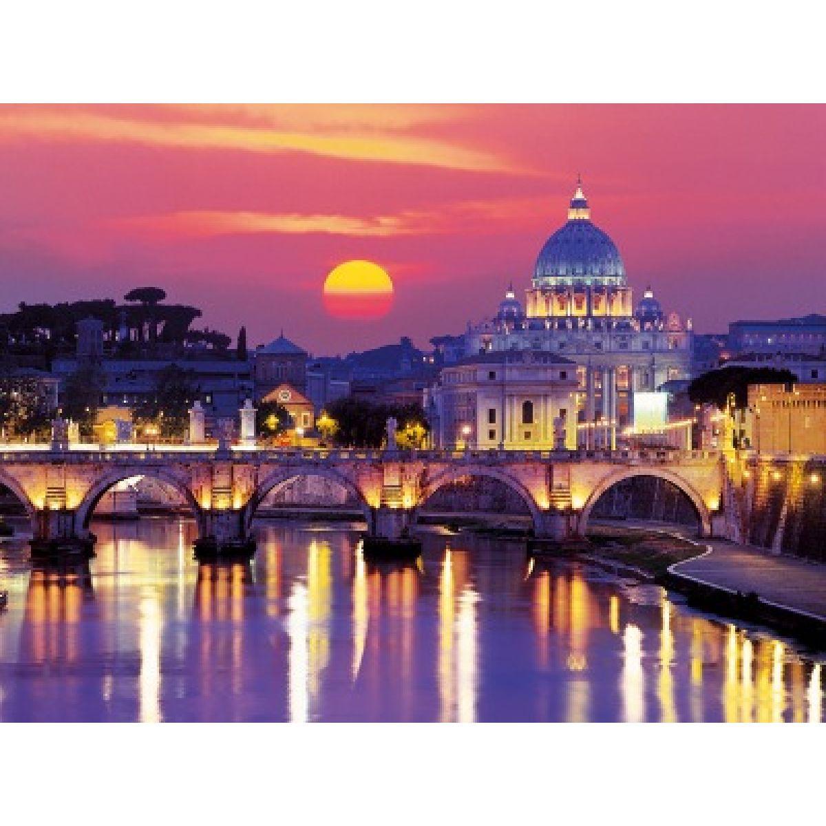 Puzzle Večerní Řím Starline 1000