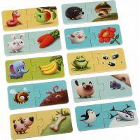 Puzzlika Mé jídlo naučné puzzle 20 dílků