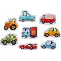 Puzzlika Dopravní prostředky puzzle 8 dopravních prostředků 16 dílků