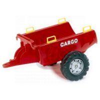 Falk Přívěs Cargo červený 2 kolový