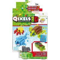 Qixels 3D Tématická sada - Oceán