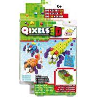 Qixels 3D Tématická sada - Útočníci z vesmíru