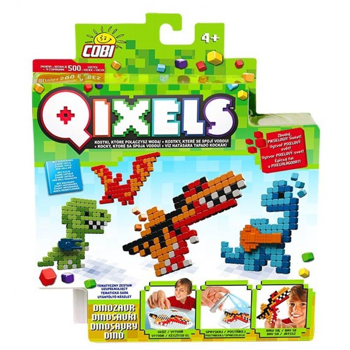 Qixels Tématická sada 87111 - Dinosauři