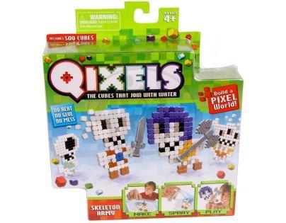 Qixels Tématická sada - Kostlivci