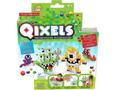 Qixels Tématická sada - Příšery