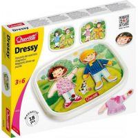 Quercetti Dressy Baby magnetic dress-up puzzle Magnetická skládačka