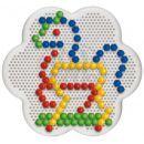 Quercetti 0132 - Mozaika Fantacolor Daisy Basic 100 ks 3