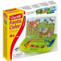 Quercetti 0662 - Mozaika Fantacolor Educo - kufřík