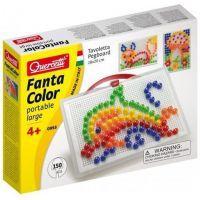 Quercetti 0953 - Mozaika Fantacolor Portable 150 ks