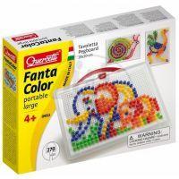 Quercetti 0952 - Mozaika Fantacolor Portable 270 ks