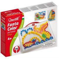 Quercetti 0950 - Mozaika Fantacolor Portable 280 ks