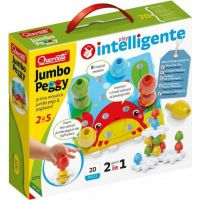 Quercetti Jumbo Peggy jumbo pegs & pegboard mozaika s velkými kolíčky