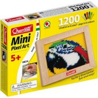 Quercetti Mini Pixel Art Papoušek