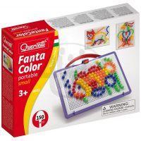 Quercetti 0922 - Mozaika Fantacolor Portable 150 ks