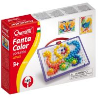 Quercetti Mozaika Fantacolors Portable 160 ks