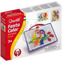 Quercetti 0924 - Mozaika Fantacolor Portable 100 čt.