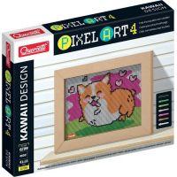 Quercetti Pixel Art 4 Kawaii Corgi mozaika z kolíčkov