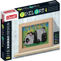 Quercetti Pixel Art 4 Kawaii Panda mozaika z kolíčkov