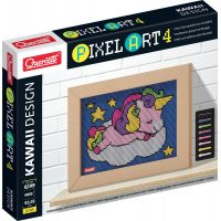 Quercetti Pixel Art 4 Kawaii Unicorn mozaika z kolíčků