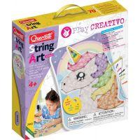 Quercetti Play Creativo String Art Animals kreslení pomocí nití a kolíčků