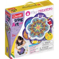 Quercetti Play Creativo String Art Mandala kreslení pomocí nití a kolíčků