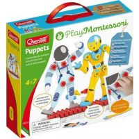 Quercetti Puppets nuts & bolts puppets Postavičky se šroubky a matičkami
