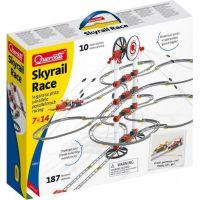 Quercetti Skyrail Race parallel track racing Dvojitá závěsná kuličková dráha