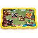 Quercetti Smart Puzzle Farma 4