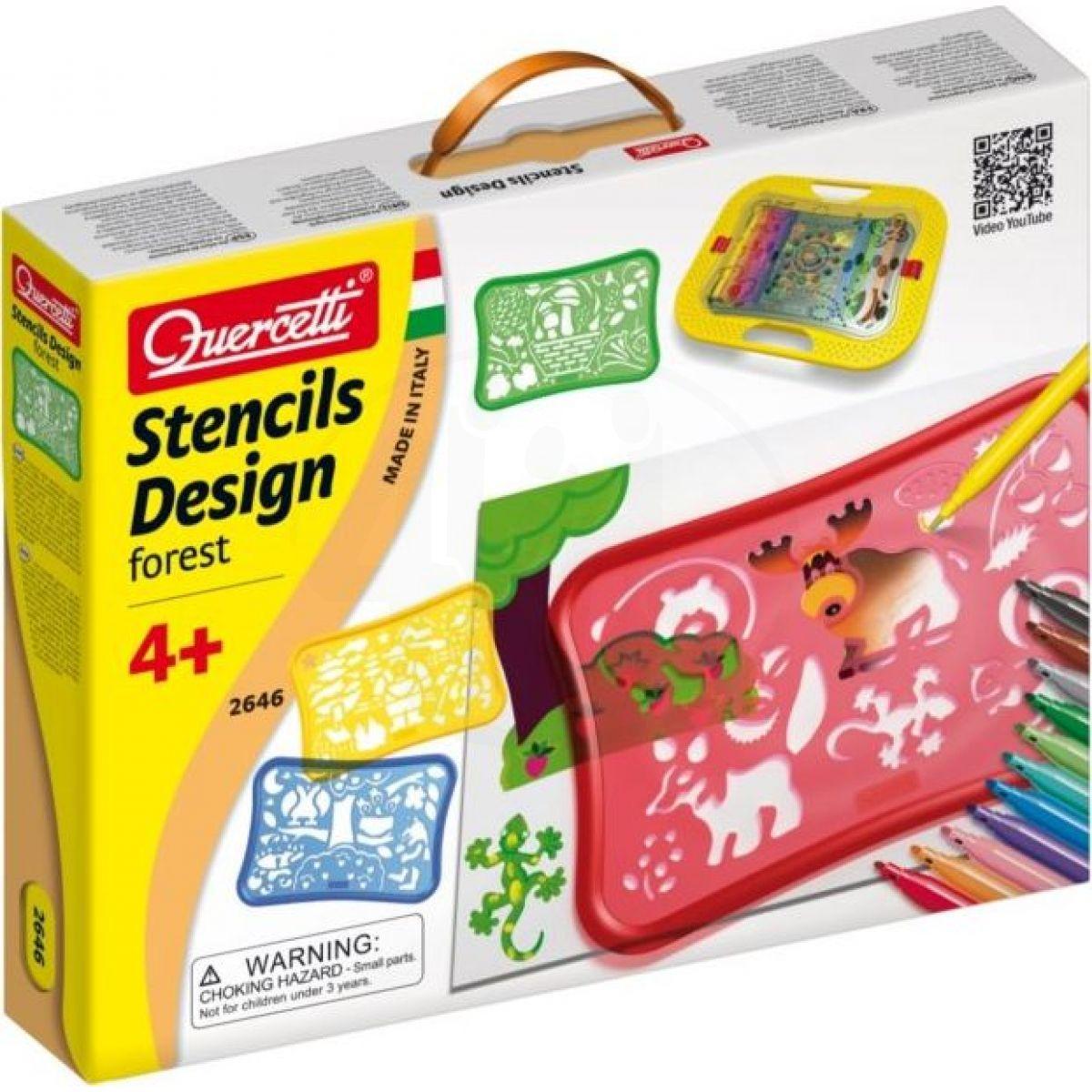 Quercetti Stencils Design Forest
