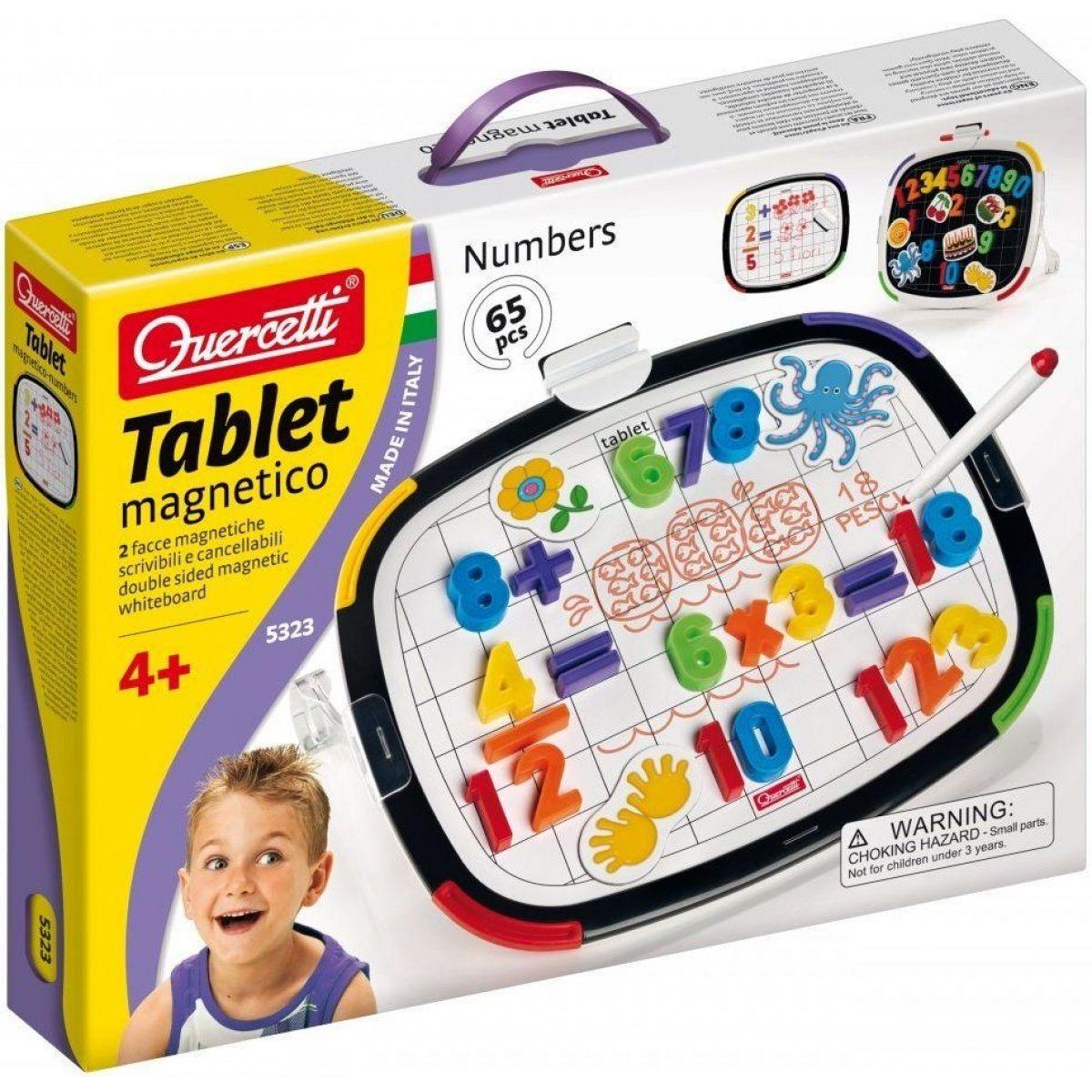 Quercetti Tablet Magnetico Numeri