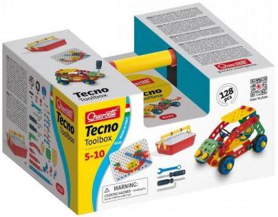 Quercetti Tecno Toolbox 128 dílků