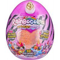 Rainbocorns S3 plyšový jednorožec bílozlatý roh