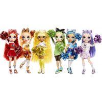 Rainbow High Fashion panenka Roztleskávačka Sunny Madison žlutá 4