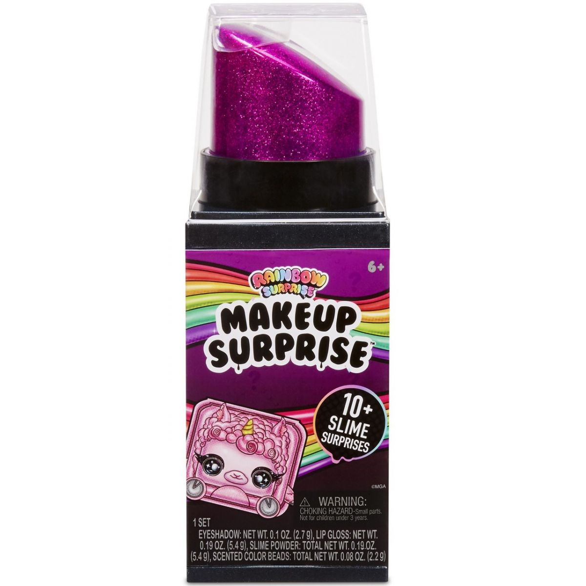 Rainbow Surprise MakeUp Surprise tm. fialová