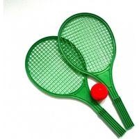 Toy Raketa plážová střední soft tenis barevný zelená