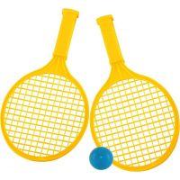 Toy Raketa plážová střední soft tenis barevný žlutá
