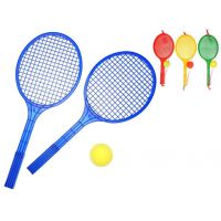 Toy Raketa plážová velká soft tenis barevný