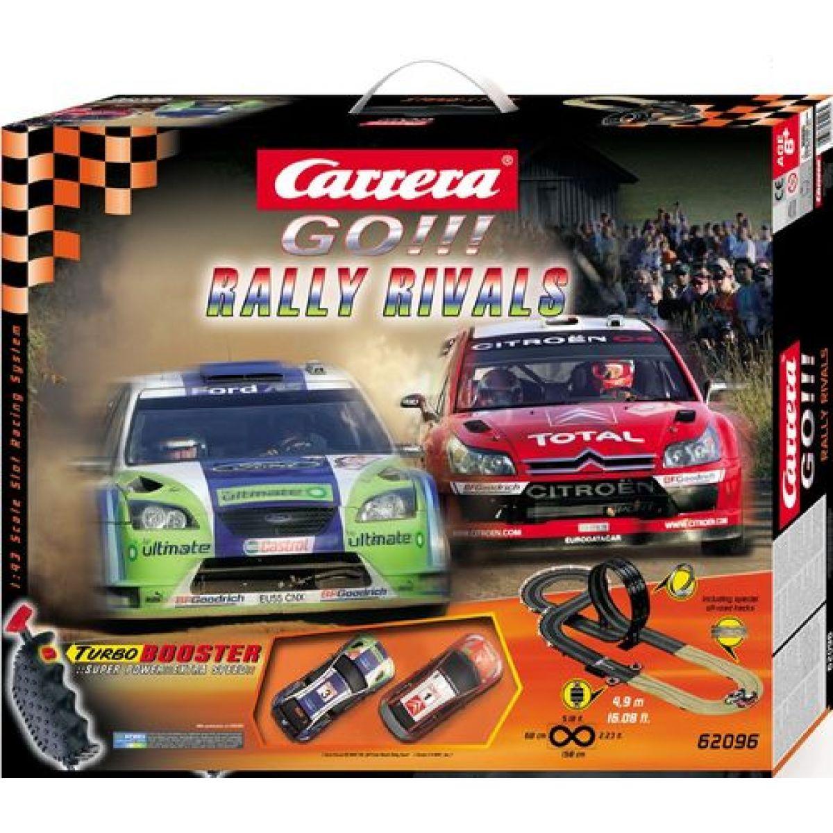 Autodráha Carrera GO GCG1039_62096 - Rally Rivals